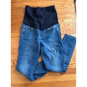 Gap maternity size 10 skinny jean